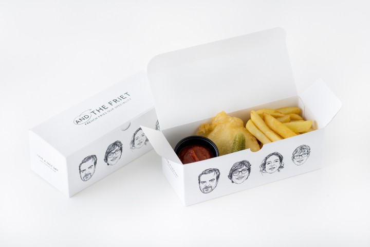 AND THE FRIET BOX