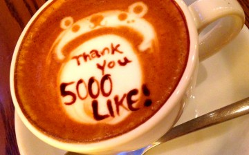 """Thank you for 5,000 """"Like!"""" on Facebook!!!"""