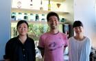 吉田先生と新担任の皆さん@私立珈琲小学校