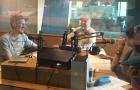 さまざまな顔を持つ話題のコーヒーライターヴォーン氏がラジオ番組に出演!!